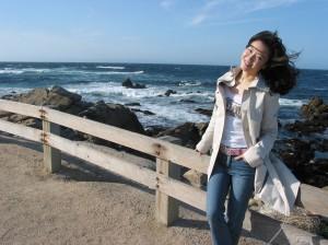 十七英哩海景路其中一景點-----Restless Sea,由於此地域底部的特別起伏,驅使海浪無休止的向岸邊猛烈衝擊,因此被予為無休止的海的稱號。我站在這裡也差點被吹倒呢!